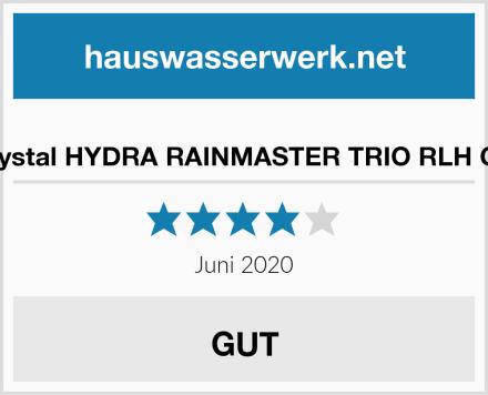 """purway Crystal HYDRA RAINMASTER TRIO RLH CB/EC 3/4"""" Test"""