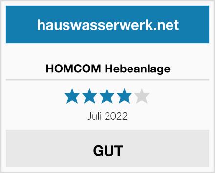 HOMCOM Hebeanlage Test