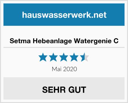 Setma Hebeanlage Watergenie C Test