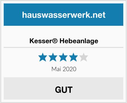 Kesser® Hebeanlage Test