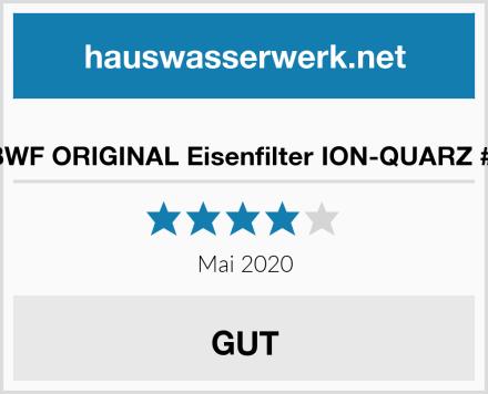 BWF ORIGINAL Eisenfilter ION-QUARZ #1 Test