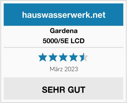 Gardena 5000/5E LCD Test