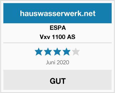 ESPA Vxv 1100 AS Test