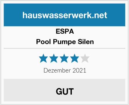 ESPA Pool Pumpe Silen Test