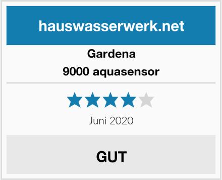 Gardena 9000 aquasensor Test