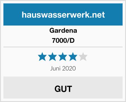 Gardena 7000/D Test