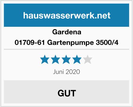 Gardena 01709-61 Gartenpumpe 3500/4 Test