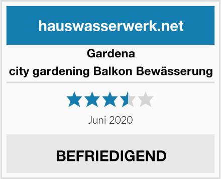 Gardena city gardening Balkon Bewässerung Test
