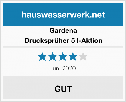 Gardena Drucksprüher 5 l-Aktion Test