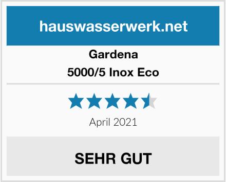 Gardena 5000/5 Inox Eco Test