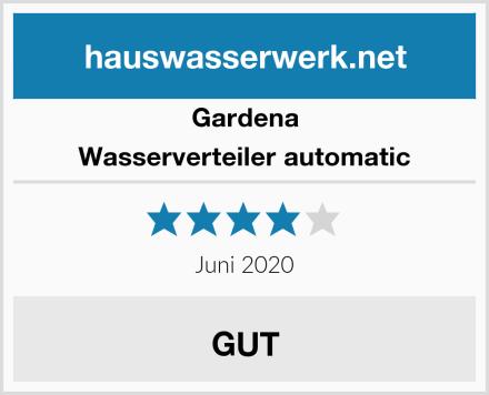 Gardena Wasserverteiler automatic Test