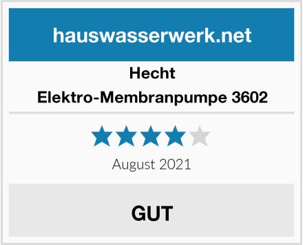 Hecht Elektro-Membranpumpe 3602 Test