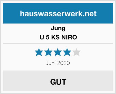 Jung U 5 KS NIRO Test