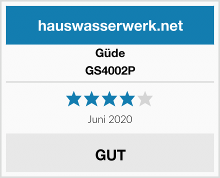 Güde GS4002P Test