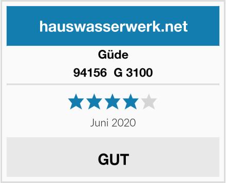 Güde 94156  G 3100 Test