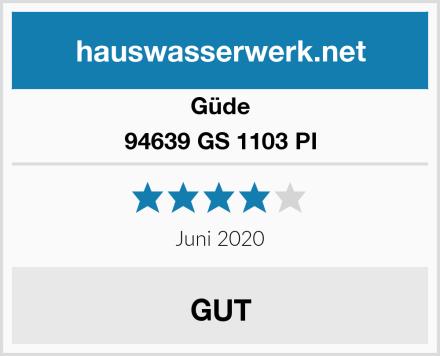 Güde 94639 GS 1103 PI Test
