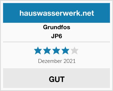 Grundfos JP6 Test