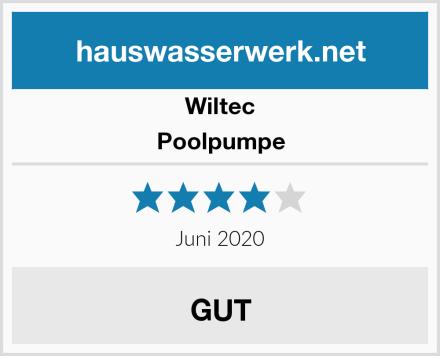 Wiltec Poolpumpe Test