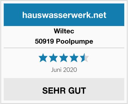 Wiltec 50919 Poolpumpe Test