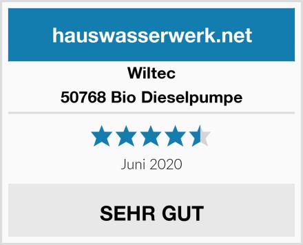 Wiltec 50768 Bio Dieselpumpe Test