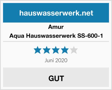 Amur Aqua Hauswasserwerk SS-600-1 Test