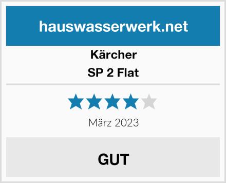 Kärcher SP 2 Flat Test
