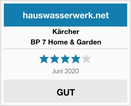 Kärcher BP 7 Home & Garden Test