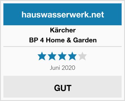 Kärcher BP 4 Home & Garden Test