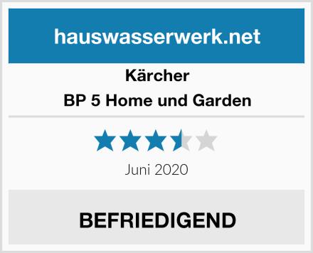Kärcher BP 5 Home und Garden Test