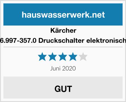 Kärcher 6.997-357.0 Druckschalter elektronisch Test