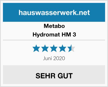 Metabo Hydromat HM 3 Test