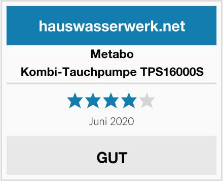 Metabo Kombi-Tauchpumpe TPS16000S Test