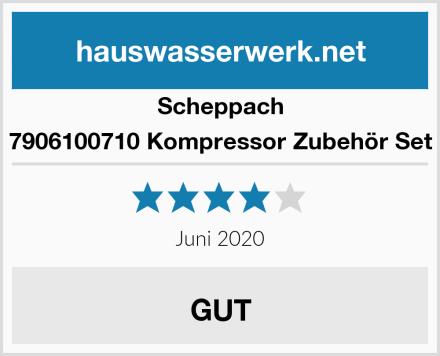 Scheppach 7906100710 Kompressor Zubehör Set Test