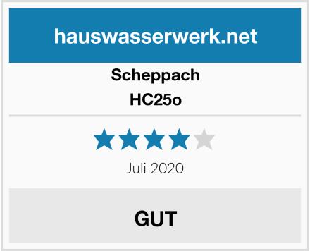 Scheppach HC25o Test