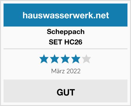 Scheppach SET HC26 Test