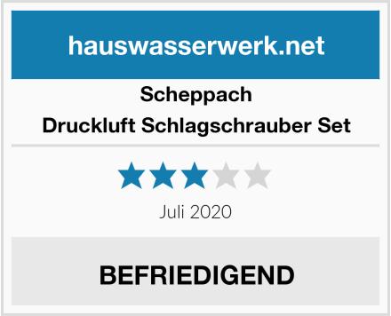 Scheppach Druckluft Schlagschrauber Set Test