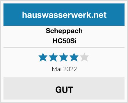 Scheppach HC50Si Test