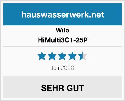 Wilo HiMulti3C1-25P Test