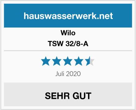Wilo TSW 32/8-A Test