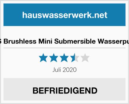 TSSS Brushless Mini Submersible Wasserpumpe Test