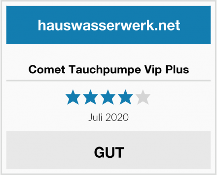 Comet Tauchpumpe Vip Plus Test