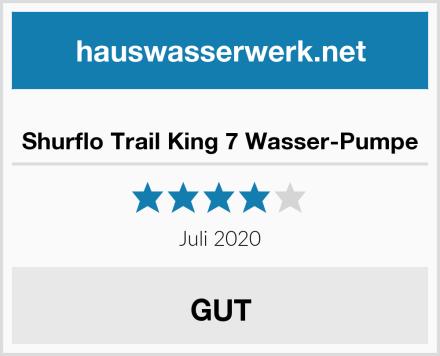 Shurflo Trail King 7 Wasser-Pumpe Test