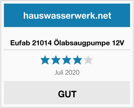 Eufab 21014 Ölabsaugpumpe 12V Test