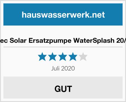 Esotec Solar Ersatzpumpe WaterSplash 20/1350 Test