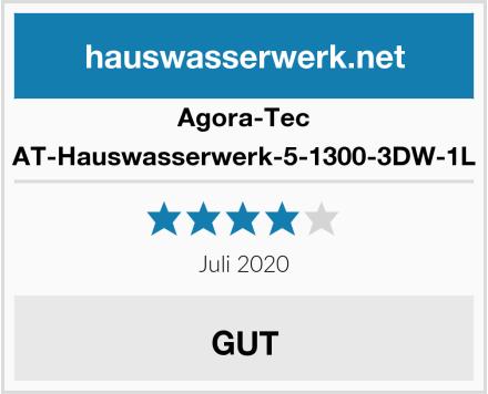 Agora-Tec AT-Hauswasserwerk-5-1300-3DW-1L Test