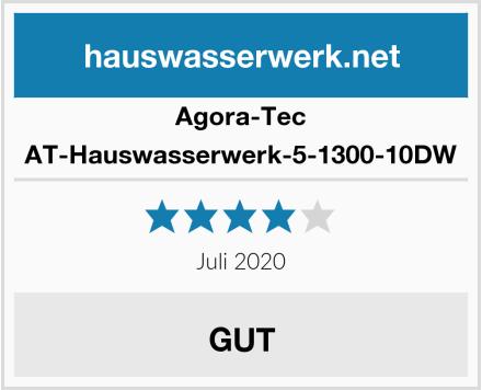 Agora-Tec AT-Hauswasserwerk-5-1300-10DW Test
