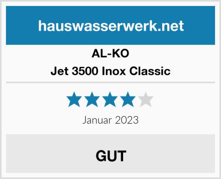 AL-KO Jet 3500 Inox Classic Test