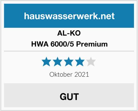 AL-KO HWA 6000/5 Premium Test