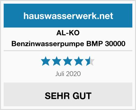 AL-KO Benzinwasserpumpe BMP 30000 Test