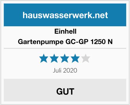 Einhell Gartenpumpe GC-GP 1250 N Test